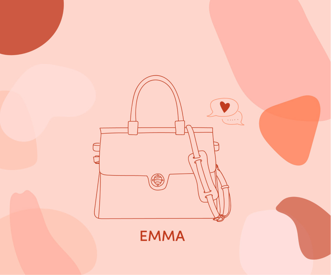 illustration bag emma